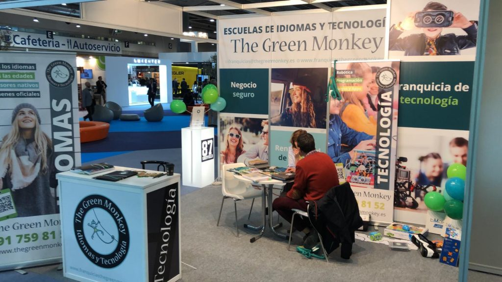 the green monkey expofranquicia 2019